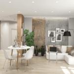 Дизайн интерьера в квартире ЖК RiverStone