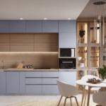 Интересный подход к реализации дизайн-проекта квартиры в ЖК Теремки 2