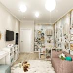Интерьер компактной квартиры ЖК RiverStone