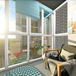 Светлый интерьер в квартире ЖК Теремки 2