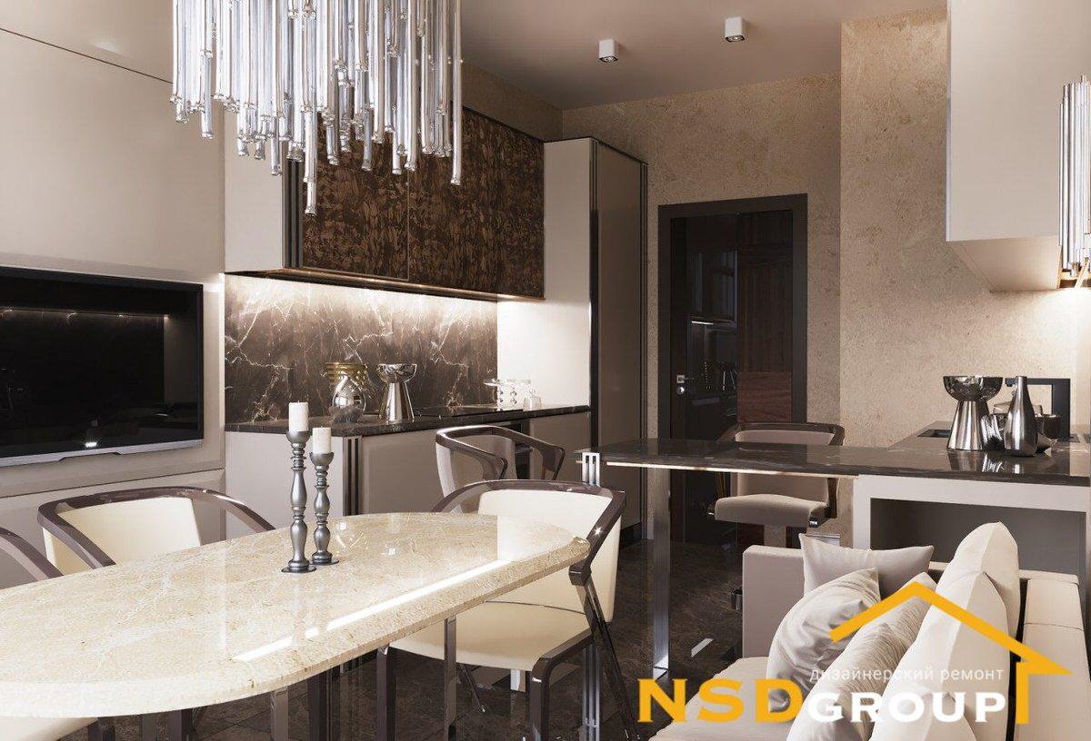 Design Art Deco style apartment