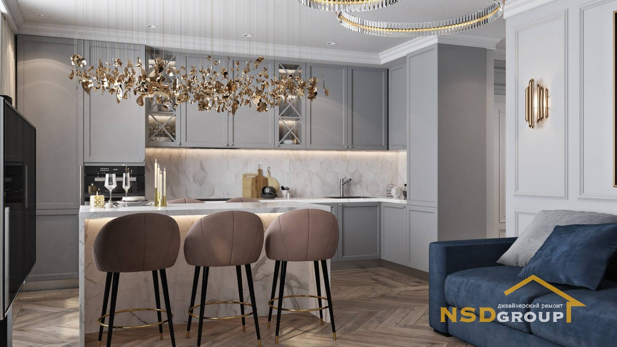 Фото Design in the style of modern classics