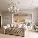 Шикарный интерьер квартиры в ЖК Аристократ