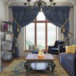 Богатый дизайн интерьера в квартире ЖК Pechersk Plaza
