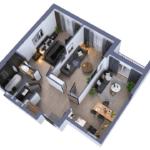 Дизайн проект квартиры в ЖК Тридцать восьмая жемчужина