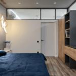 Стильный дизайн спальни в ЖК Аристократ