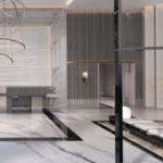 Вариант оформления пространства ЖК Linden Luxury Residences