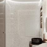 Лаконичный и изысканный дизайн интерьера ванной в квартире ЖК Pechersk Plaza