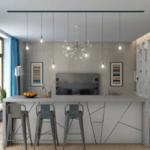 Дизайнерский подход к созданию обеденной зоны в квартире ЖК Pechersk Plaza